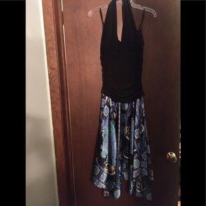 Dressbarn Collection Halter Top Dress Size 10